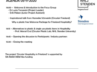 Focus Group meeting on Circular Plastic in Hospitality (5 November 2020)